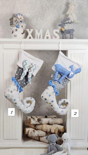 Božićne čizmice Plave 2021 Božić Božićne čizmice Plave 2021